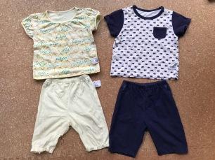 Pyjamas d'UNIQLO d'été